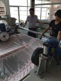 Knitted Fabric Heat Setting Machine , Textile Finishing Equipment Working Width 1200-3400mm